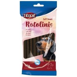 """TR-31771 Trixie friandise chien """"Soft Snack Rotolinis"""" au bœuf 120 g soit 12 pièces Nourriture"""