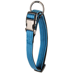 Flamingo FL-516918 Jannu blue collar adjustable from 45 to 65 cm 25 mm. size XL. for dog Collier nylon