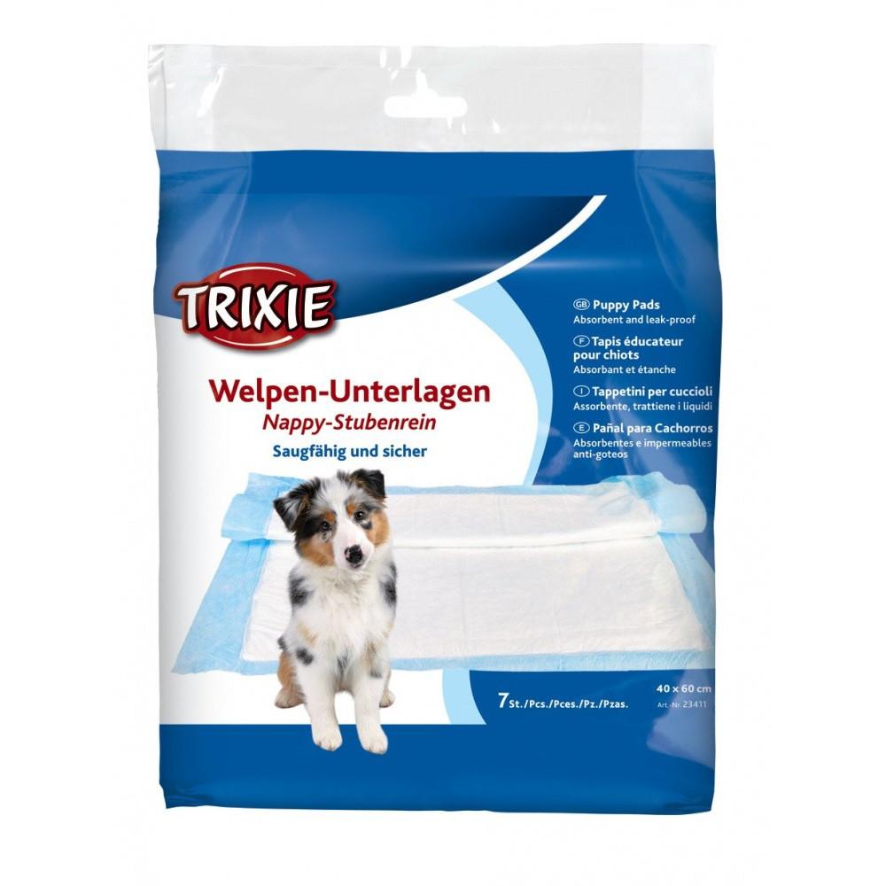 Tapis éducateur Nappy 40*60 cm pour chien 7 pieces éducation propreté chien Trixie TR-23411