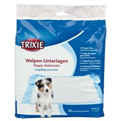 Trixie Tapis éducateur Nappy 60*60 cm x 10 pieces pour chien TR-23412 éducation propreté chien