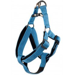 Flamingo Pet Products Jannu blue harness. size L 40-70 cm 25 mm. for dog dog harness