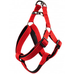 Flamingo Pet Products Jannu red harness. size L 40-70 cm 25 mm. for dog dog harness