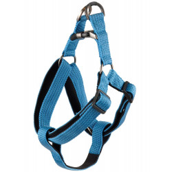 Flamingo Pet Products Jannu blue harness. size XL 60-90 cm 25 mm. for dog dog harness