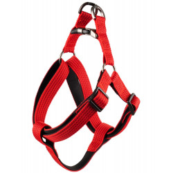 Flamingo Pet Products Jannu red harness. size XL 60-90 cm 25 mm. for dog dog harness