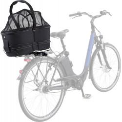Trixie Cestino da bici lungo, per portapacchi largo. Per cani fino a 8 kg. TR-13110 Cestino per biciclette