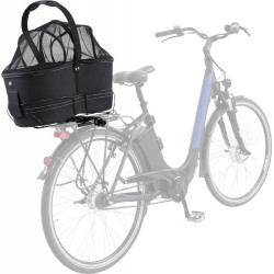 Trixie Panier pour vélo Long, pour porte-bagages larges max 8 kg Dog