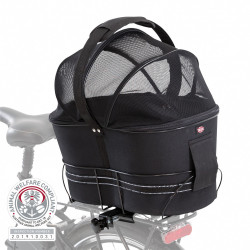 Trixie Bicycle basket for narrow luggage racks max. weight 6 kg Bicycle basket