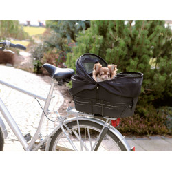Trixie Panier pour vélo pour porte-bagages larges taille : 29 × 42 × 48 cm jusqu'à 6 kg Dog