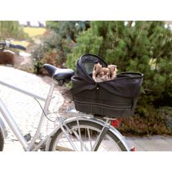 Trixie Panier pour vélo pour porte-bagages larges taille : 29 × 42 × 48 cm jusqu'à 6 kg Chien