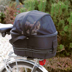 Trixie Bicycle basket for large luggage rack size: 29 × 42 × 48 cm up to 6 kg Bicycle basket