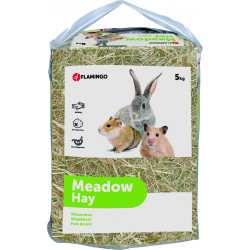 Flamingo Pet Products Pre-feed hay, 150 litres or 5 kg. for rodents Hay, litter, shavings