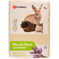 Flamingo Pet Products wood shavings with lavender for rodents 4KG Hay, litter, shavings
