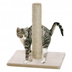 Flamingo Pet Products Polset großer Katzenkratzbaum. Farbe beige. Größe 38 x 38 x 59 cm. für Katzen. FL-1031266 Kratzer und S...