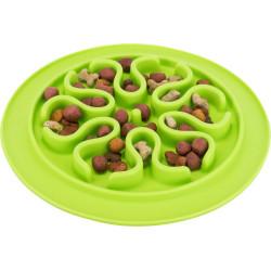 Trixie Placemat Slow Feed Dimensions: ø 24 cm. Colours: random. for dog. Bowl, bowl, bowl