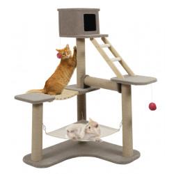 zolux Cat Tree Cat Park 3. Size 124 x 98 x 132 cm. for cats. Arbre a chat, griffoir