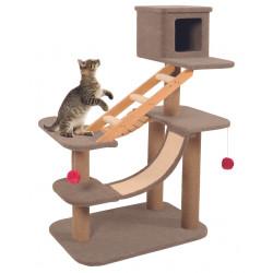 zolux Cat Tree Cat Park 2. Dimensioni 92 x 54 x 119 cm. per gatti. ZO-504103 Arbre a chat, griffoir