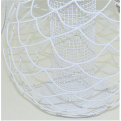 zolux ZO-170471 Urban denali white bird feeder. ø 24 cm. for birds Outdoor feeders