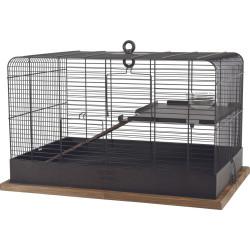 zolux Cage rétro Fernand. dimension intérieure 35 x 35 x 55 cm . pour petit rongeur. Cage