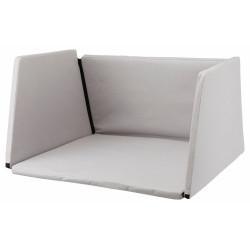 TR-39313 Trixie Revestimiento interior de la caja de transporte de aluminio Nº de pieza: 39343. Talla L para perros Transport
