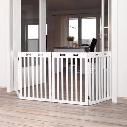 Trixie Dog gate, 4 parts. Size 60-160 x 75 cm Barriere pour chien