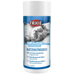 Trixie Simple'n'Clean Litter Deodorizer. Weight: 200 g. For cats litter accessory