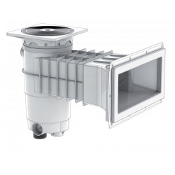 weltico Skimmer classic A400 for swimming pool panels and liners Pool filtration