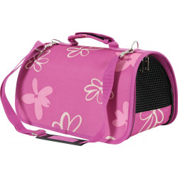 zolux ZO-423446PRU Carrying basket Flower. size S. color Plum. for cat or dog. transport bags