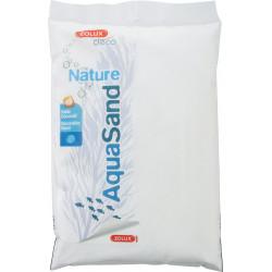 zolux decorative floor. 0.15-0.6 mm, natural cristobalite iceberg. AquaSand . 0.8 kg. for aquarium. Soils, substrates, substr...