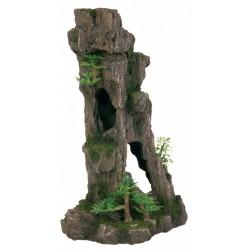 TR-8857 Trixie escalera de roca con planta, 28 cm - pez Decoración y otros