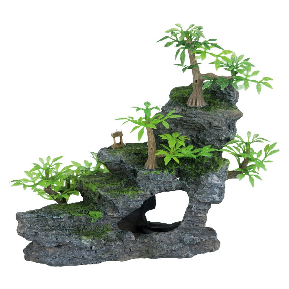 Trixie Rock staircase 19 cm fish Decoration and other