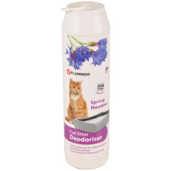 Flamingo Pet Products Litter Deodorizer 750 g. springtime scent. for cats. litter accessory