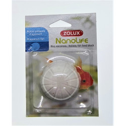 zolux ZO-334461 Nanolife vacation block for ornamental fish. 25 grams. Food and drink