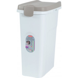 zolux hermetic plastic container of 25 liters. for dog or cat food. food accessory