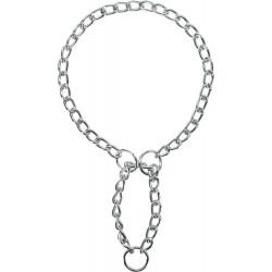 Ketting stop kraag, enkele rij. Maat: L-XL. Afmetingen: 60 cm/3 mm voor hond Trixie TR-22102 collier éducation