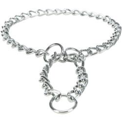 Trixie Collare di arresto della catena, fila singola. Taglia: L-XL. Dimensioni: 60 cm/4 mm per il cane TR-22107 collier éduca...