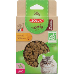 zolux Chicken flavoured Mooky candy 50 g. for cats. Nourriture