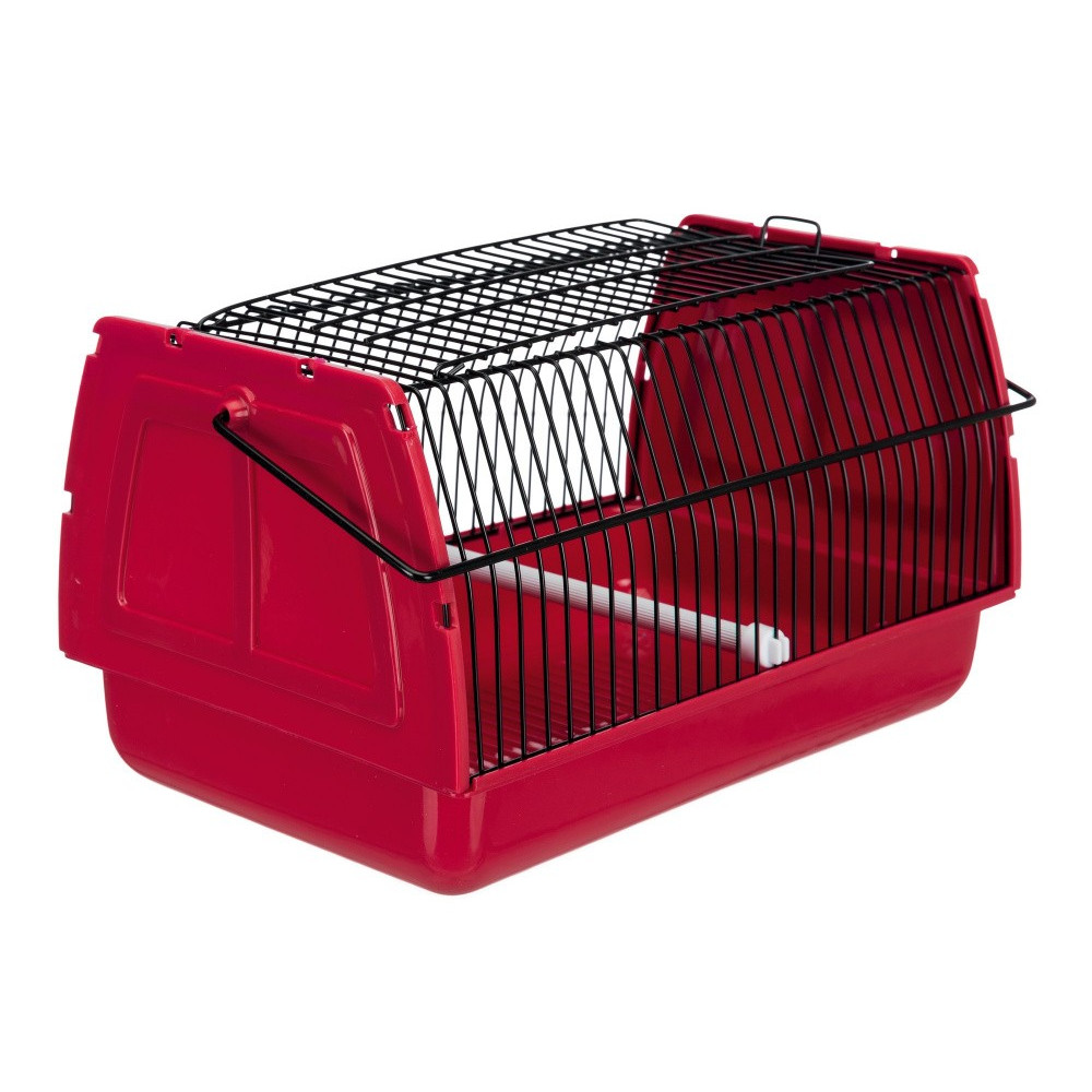 Cage transport 30 x 18 x 20 cm rongeur et oiseaux - couleur aléatoire Cages, volières, nichoir Trixie TR-5902