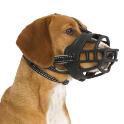 Trixie TR-17615 Silicone Muzzle Muzzle Flex Size: L-XL. for dogs like Bernese Mountain Dog, Golden Retriever. Muselière