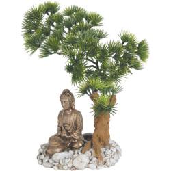 zolux Bonsai Buddha Diffusor. 14.5 x 12 x 20 cm. Aquarium Dekoration ZO-353830 Dekoration und Sonstiges