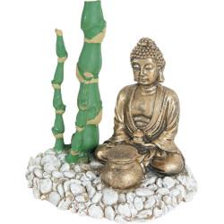 zolux Bambus Buddha Diffusor . 13 x 9 x 12 cm. Aquarium Dekoration ZO-353831 Dekoration und Sonstiges