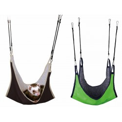 Trixie TR-62691 Hammock 18 x 18 cm small rodent animals .green or brown Beds, hammocks, nesters