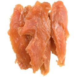 Hapki BBQ. gedroogde kipfilet snoepjes voor honden 170 g. glutenvrij . Flamingo Pet Products FL-520260 Snoephond