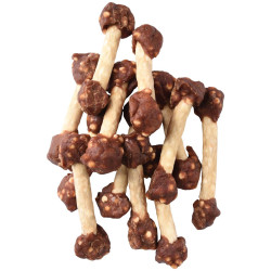 Flamingo Pet Products Hapki BBQ. Rice and lamb dumbbell candy for dog . 150 g. gluten free. Nourriture