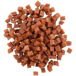 Flamingo Süße Hähnchenwürfel. Hapki BBQ. für Katzen. 85 g. glutenfrei. FL-561000 Süßigkeiten