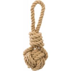 Trixie BE NORDIC Spieltau mit geflochtenem Ball. Abmessungen: ø 7/20 cm. Für Hunde TR-32632 Jeux cordes pour chien