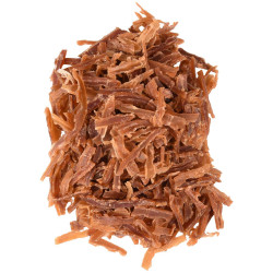 Flamingo FL-561002 Sweet duck strips. Hapki BBQ. for cat . 50 g. gluten free. Nourriture