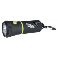 Lampe LED avec distributeur de sacs Ramassage déjection Trixie TR-22834