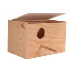 Caja nido de pájaro 30 x 20 x 20 x 20 x 20 - ø 6 cm Jaulas, aviarios, Trixie TR-5631 caja nido
