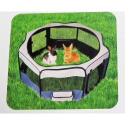FL-520812 Flamingo Pet Products Flavio recinto ø74 cm. altura 35 cm. color gris azul. para perro pequeño. Enclos pour chien