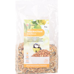 Flamingo Pet Products Bird seed mix. 1 kg bag. Food and drink